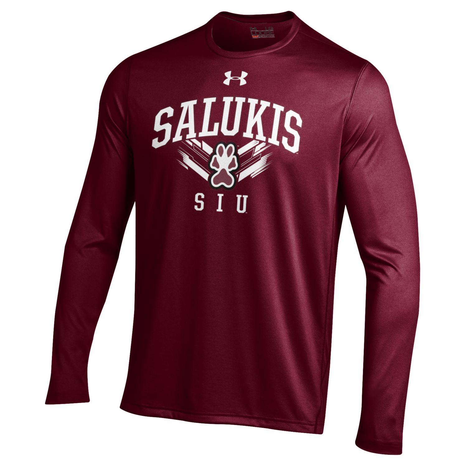 Image for the UNDER ARMOUR® SIU SALUKIS PERFORMANCE LONG SLEEVE T-SHIRT product