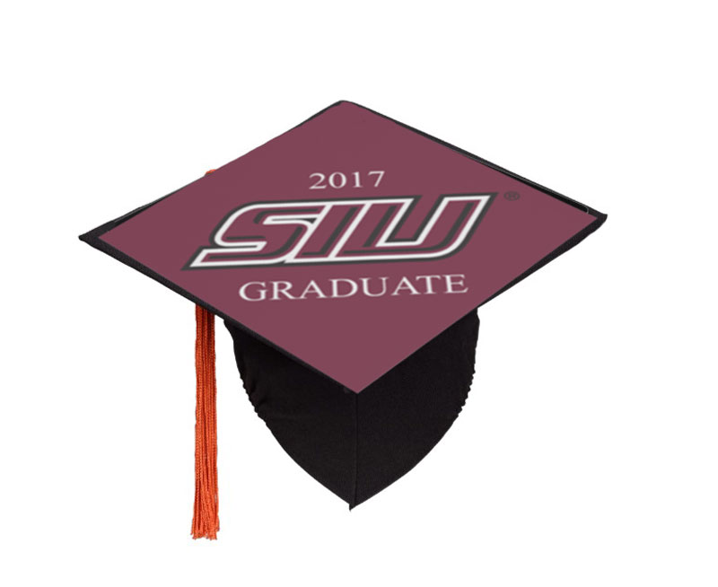 Image for the SIU GRADUATION CAP TOPPER - 2017 product