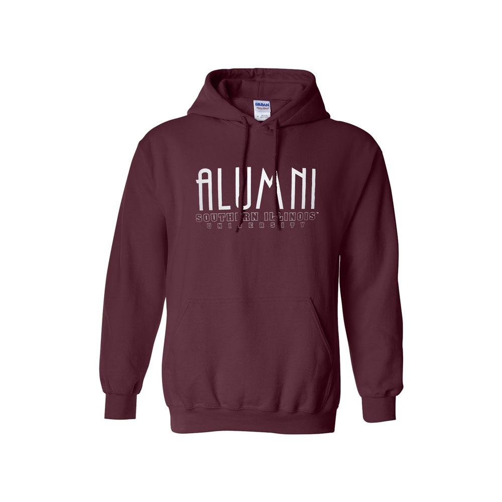 Image for the 710 BRANDED® SOUTHERN ILLINOIS ALUMNI SCRIPT HOODIE product