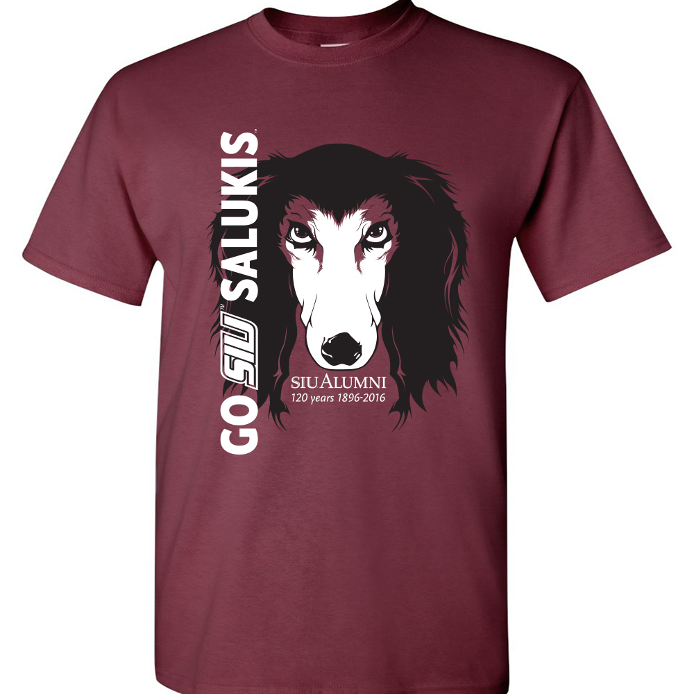 Image for the PROMO® SIU SALUKIS ALUMNI ASSOCIATION TAILGATE T-SHIRT product