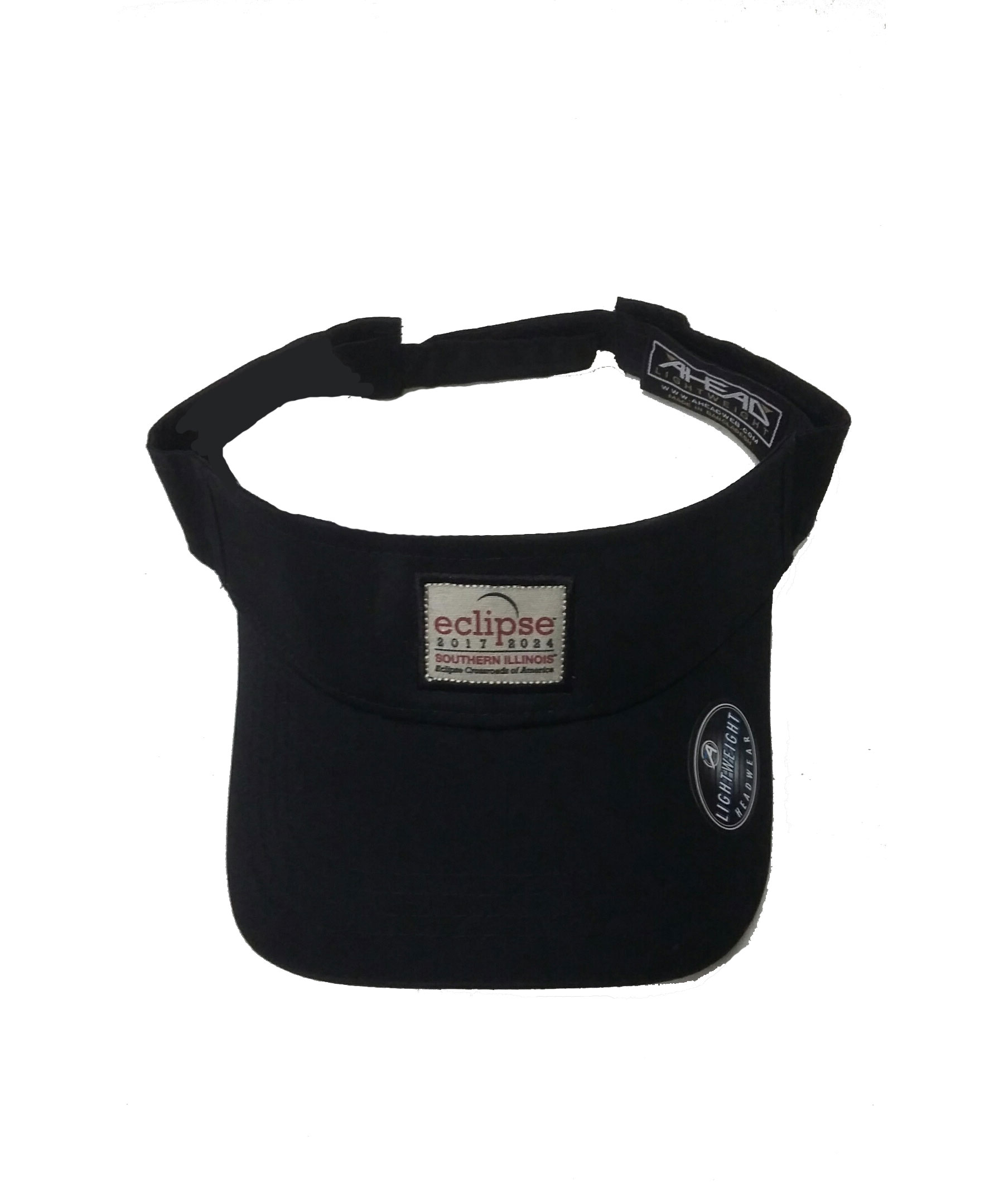 "Image for the ECLIPSE ""NO SUN"" LIGHTWEIGHT TWILL LOW RISE VISOR product"