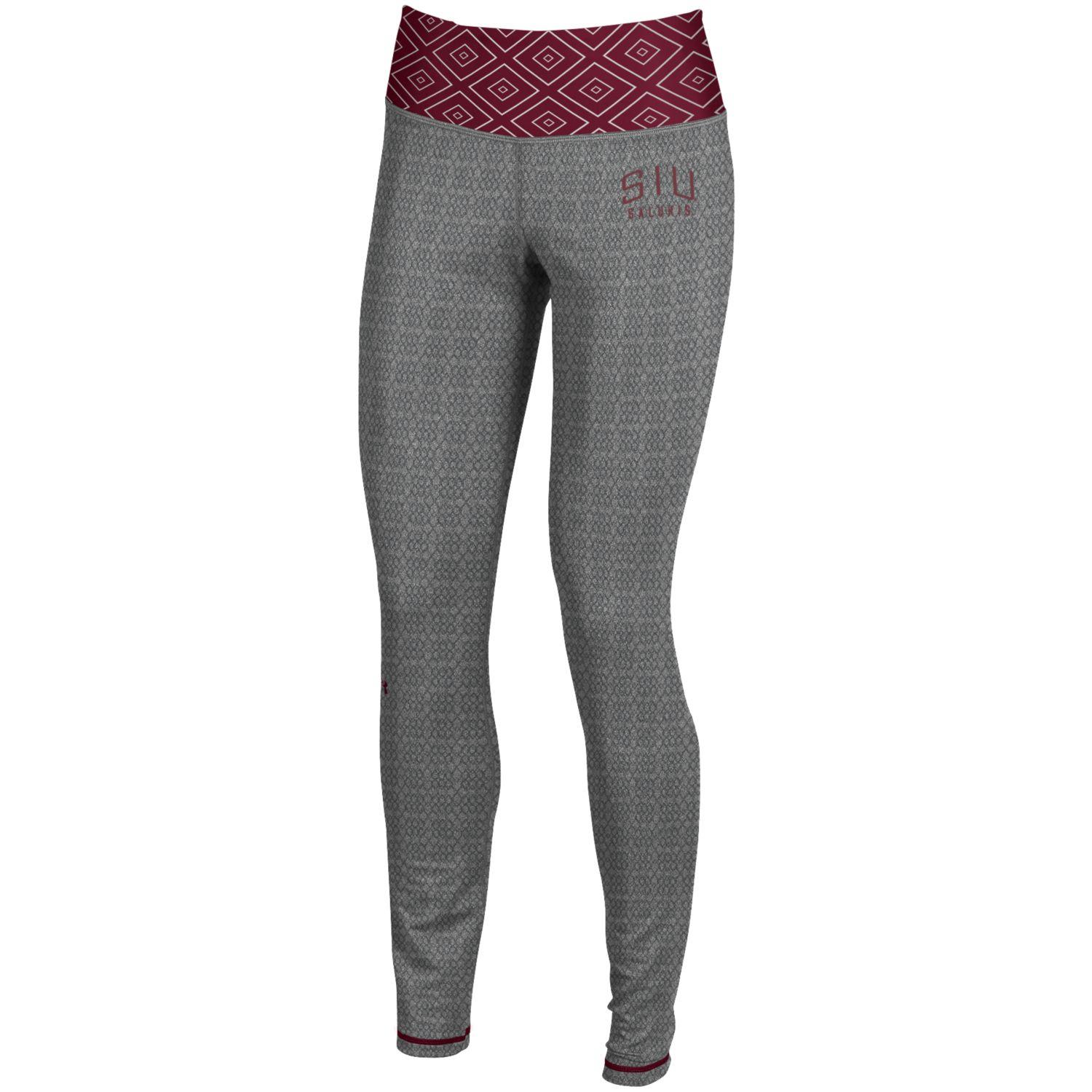 Image for the UNDER ARMOUR® SIU SALUKIS FLEX JAQUARD STRAIGHT LEGGING product