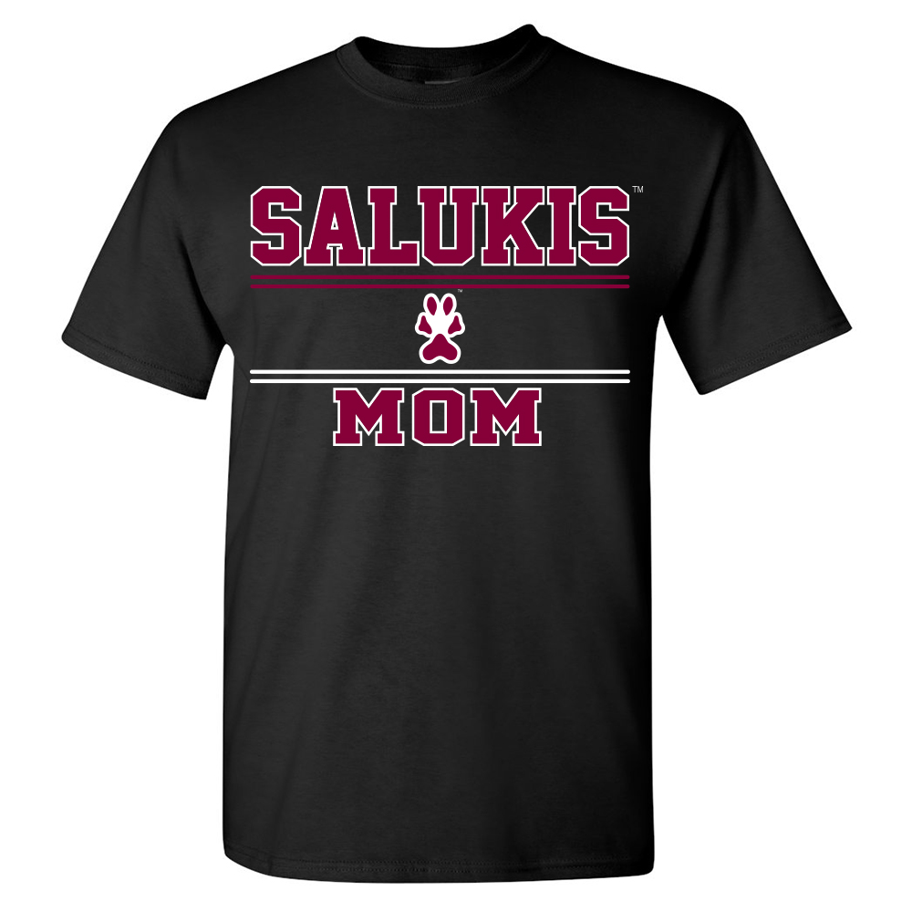 Image for the PROMO® SIU SALUKIS MOM BLACK T-SHIRT  product