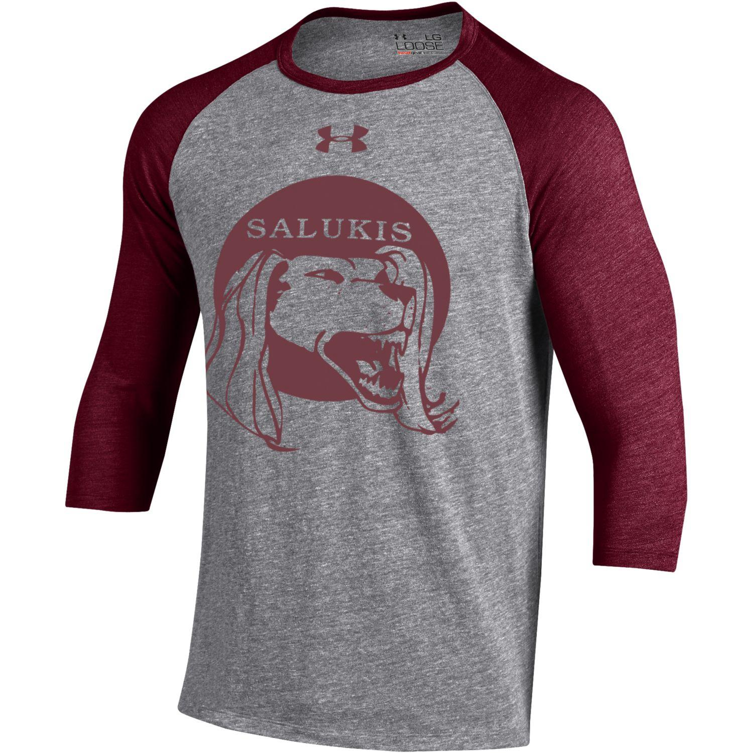 Image for the UNDER ARMOUR® SALUKIS LEGACY MEN'S TRIBLEND BASEBALL T product