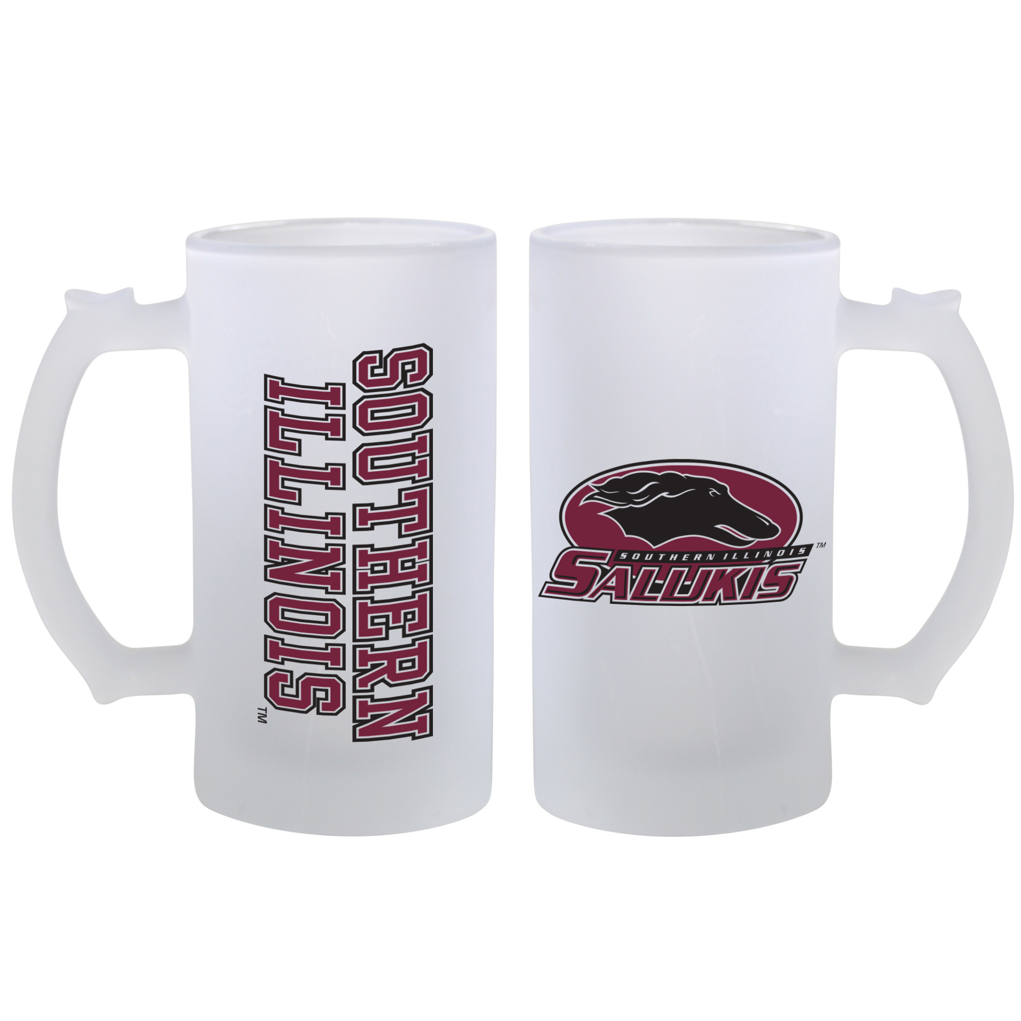 Image for the SPIRIT PRODUCTS® SOUTHERN ILLINOIS FROSTED MUG WITH HANDLE product