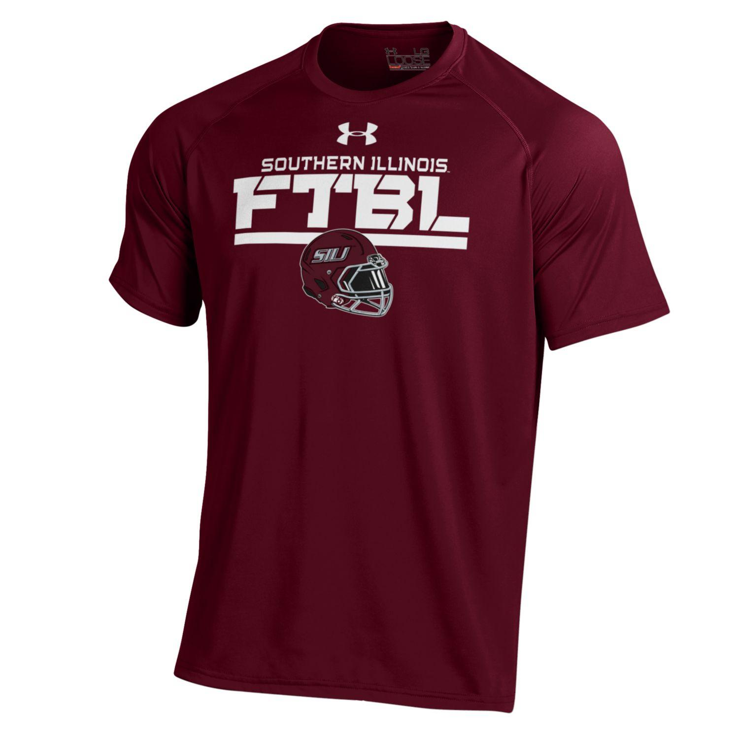 Image for the UNDER ARMOUR® SOUTHERN ILLINOIS FOOTBALL T-SHIRT product