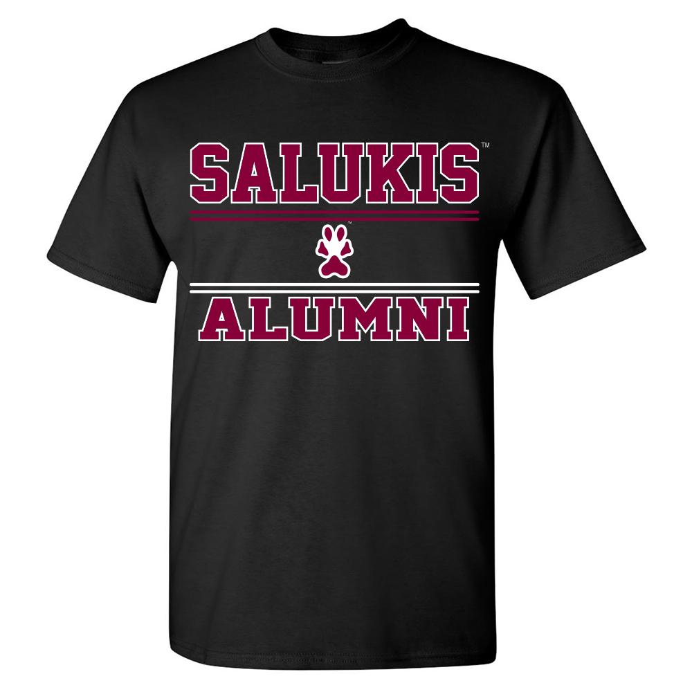 Image for the PROMO® SIU SALUKIS ALUMNI BLACK T-SHIRT product