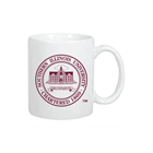 Image for the R&D® SOUTHERN ILLINOIS UNIVERSITY WHITE SEAL COFFEE MUG product
