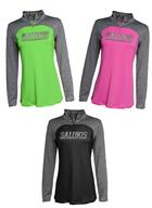 Image for the J AMERICA® SALUKIS PERFORMANCE TECH WOMENS 1/4 ZIP product