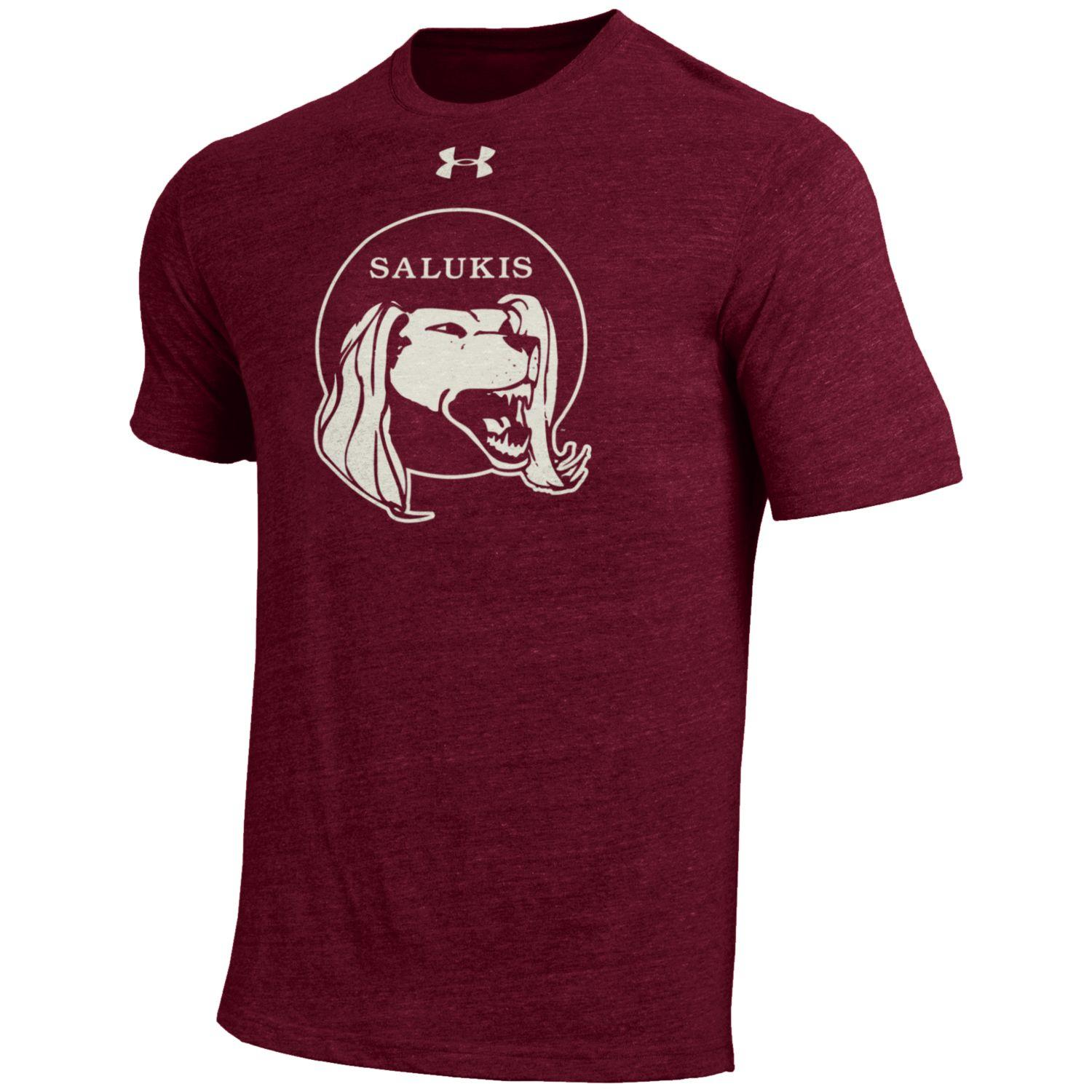 Image for the UNDER ARMOUR® SALUKIS LEGACY LOGO TRI-BLEND T-SHIRT product