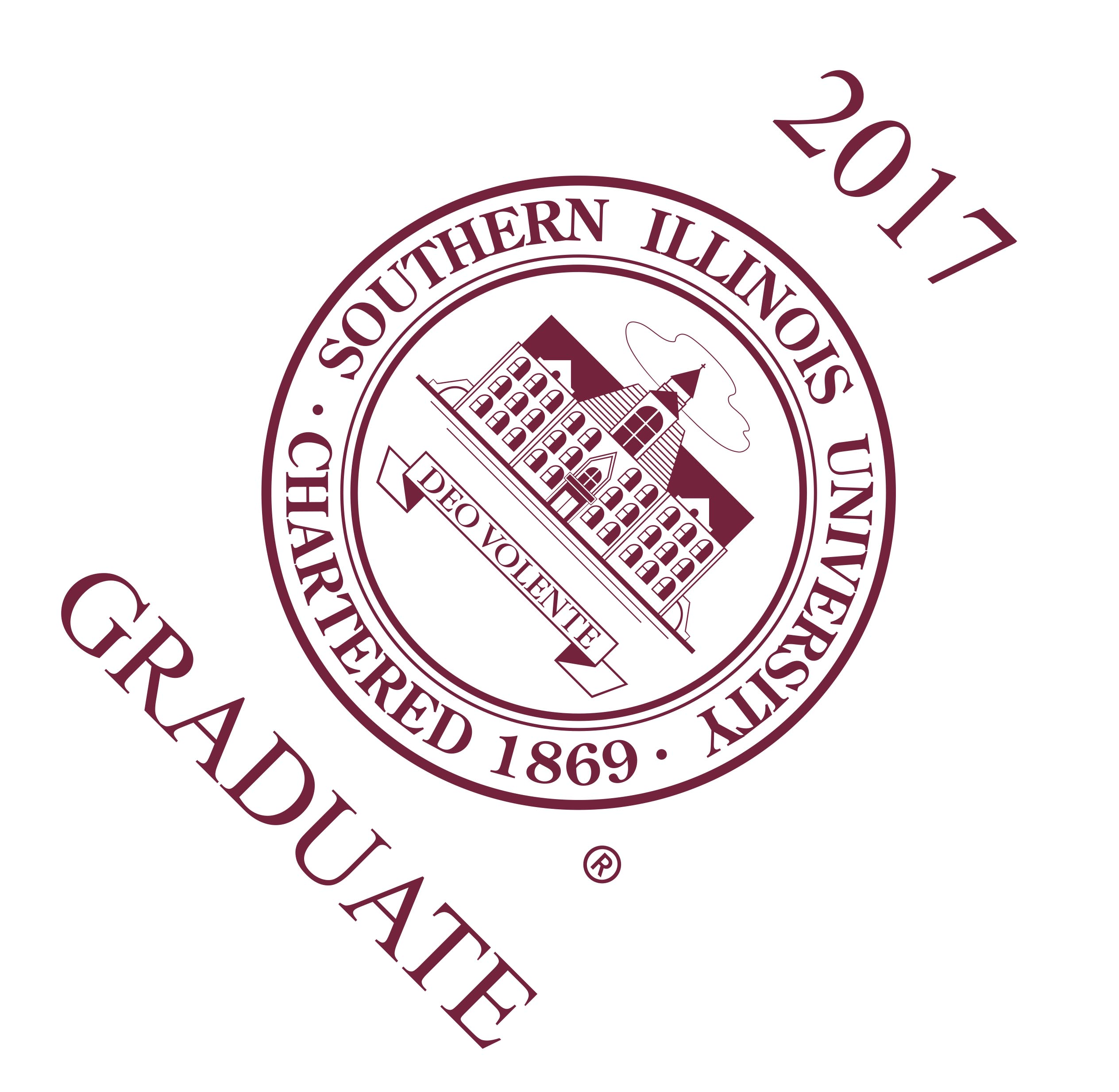 Alternative Image for the SOUTHERN ILLINOIS UNIVERSITY SEAL GRADUATION CAP TOPPER product