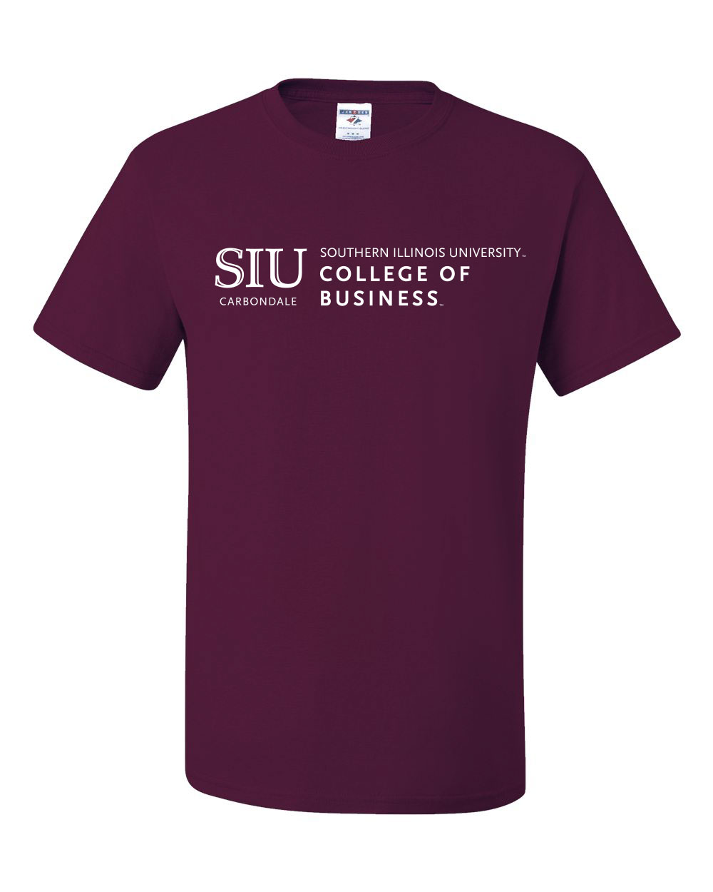 Image for the CT® SIU COLLEGE OF BUSINESS T-SHIRT product