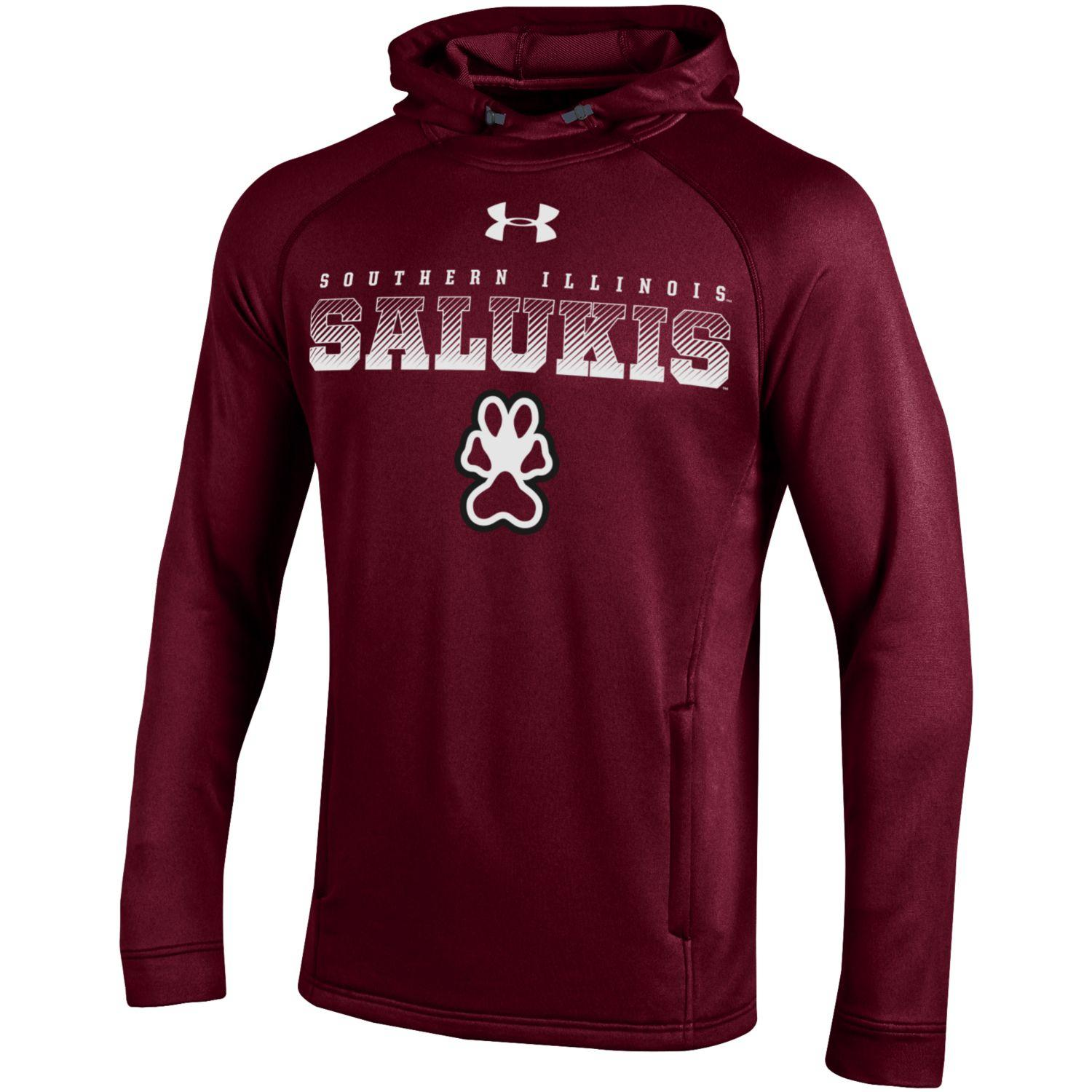 Image for the UNDER ARMOUR® SOUTHERN ILLINOIS SALUKIS TECH TERRY HOOD product