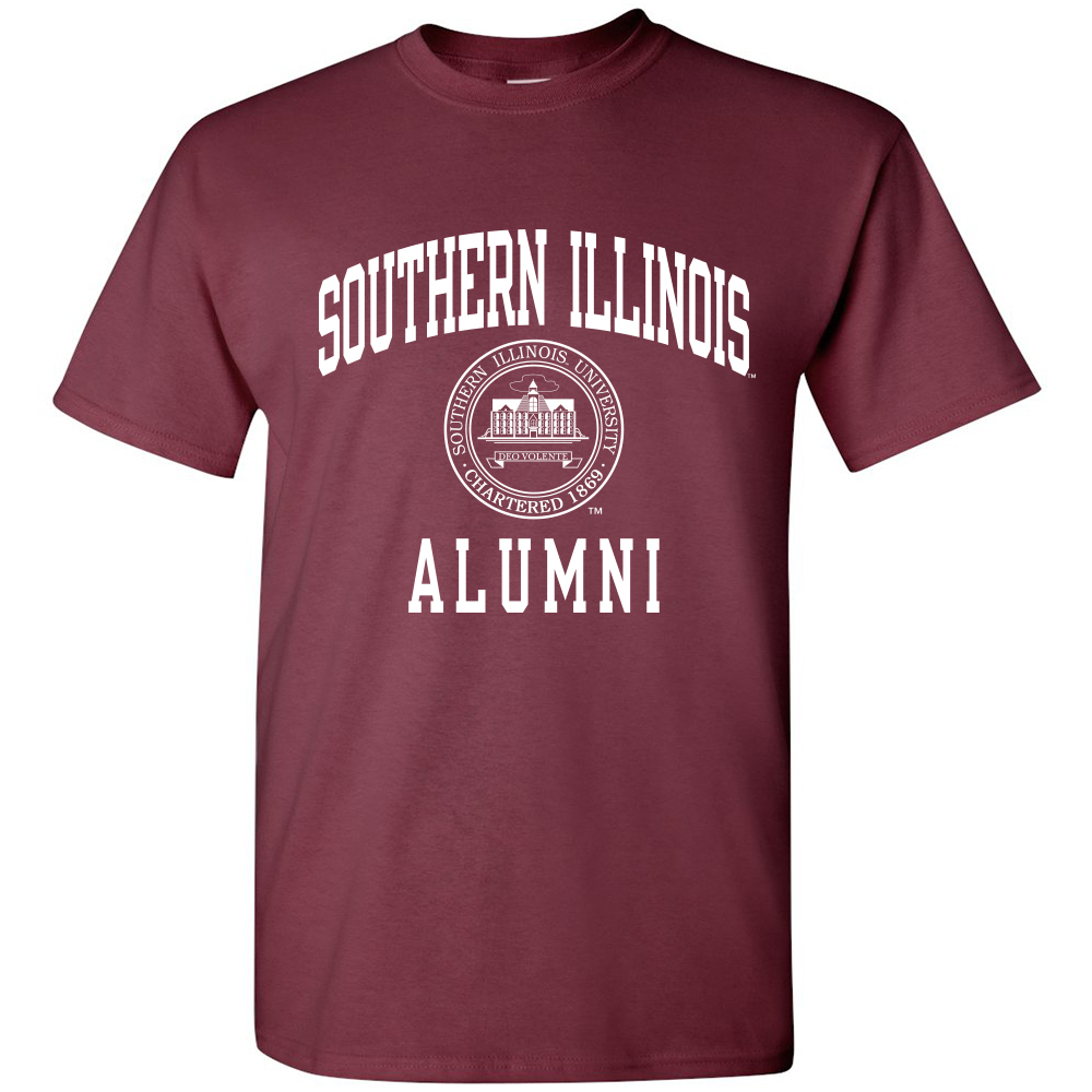 Image for the PROMO® SOUTHERN ILLINOIS ALUMNI SEAL T-SHIRT product