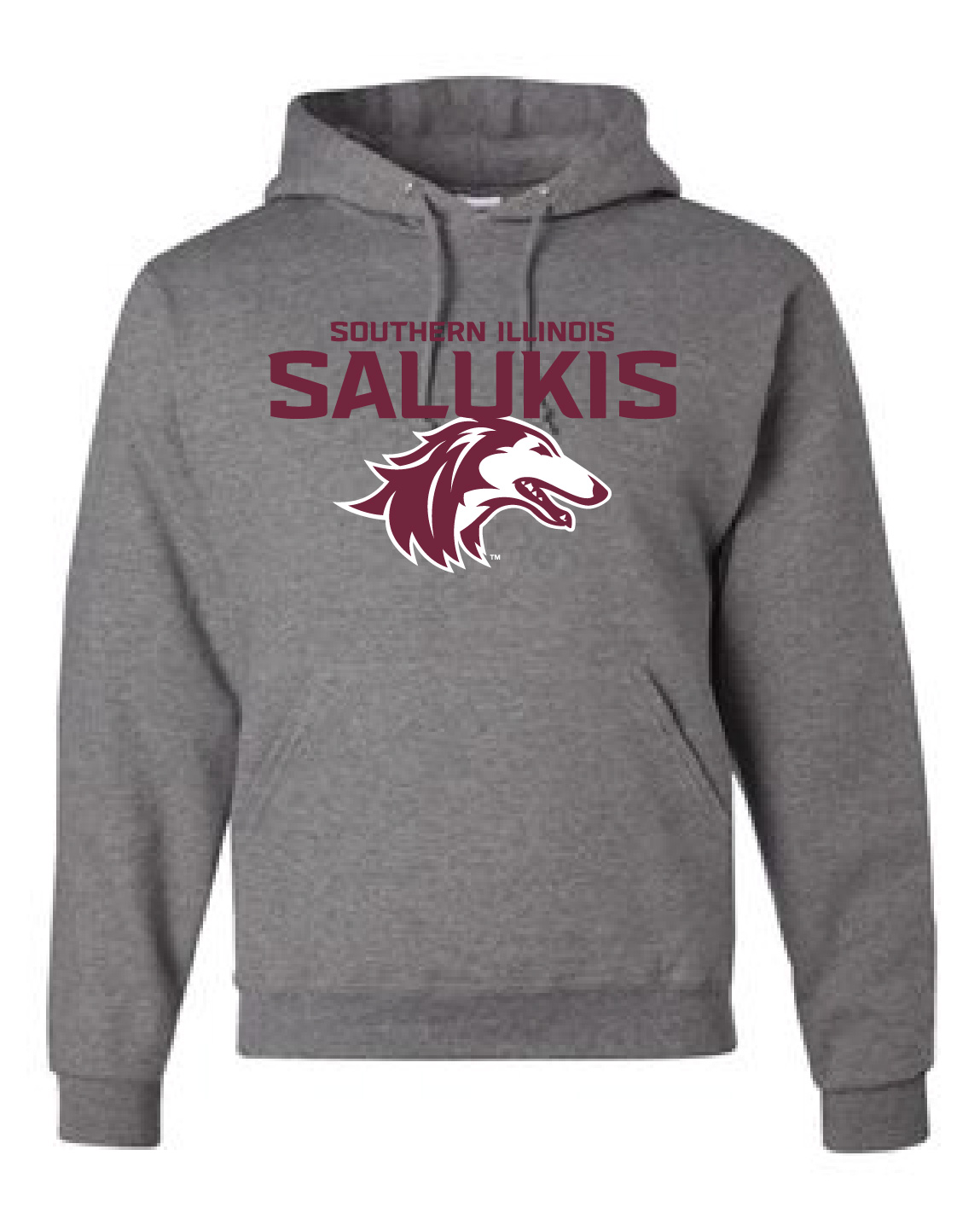 Image for the NEW 2019 ATHLETIC LOGO SOUTHERN ILLINOIS SALUKIS HOOD product