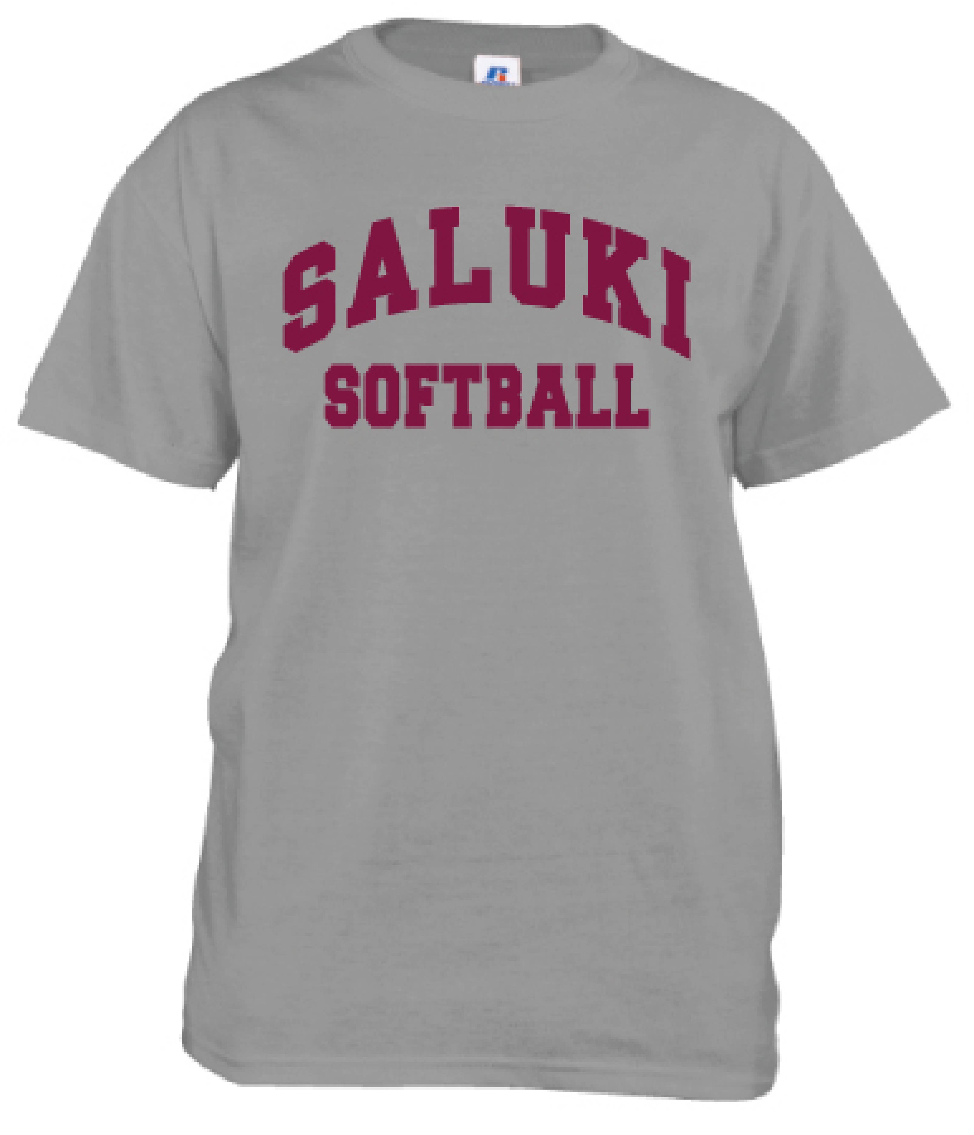 Image for the RUSSELL® SALUKI SPORT SOFTBALL T product