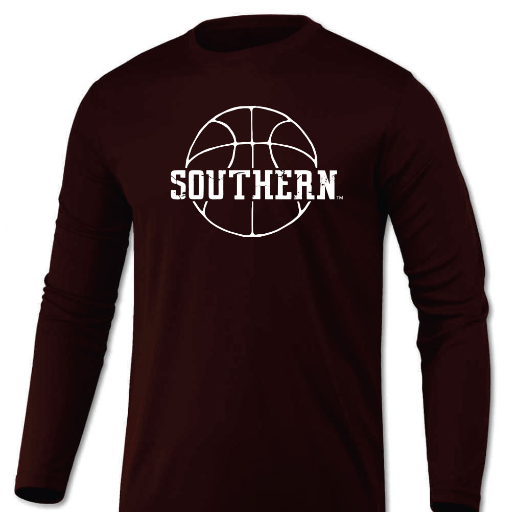 Image for the SOUTHERN BASKETBALL LONG SLEEVE DRI-FIT T-SHIRT product
