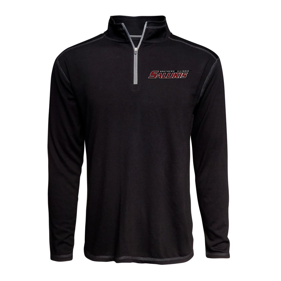 Image for the J AMERICA® SALUKIS TRISOFT BLACK 1/4 ZIP product