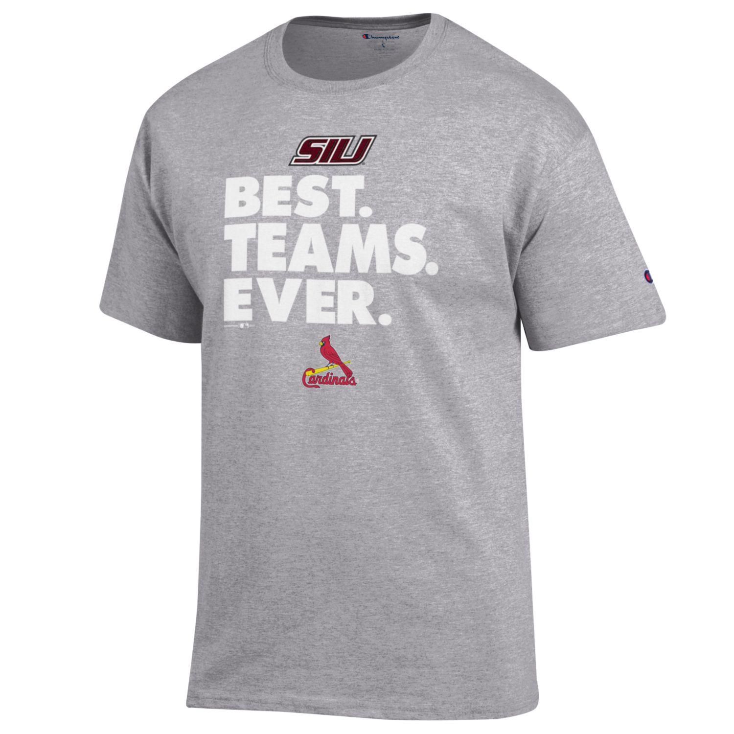 Image for the CHAMPION® SIU CARDINALS BEST TEAMS T-SHIRT product
