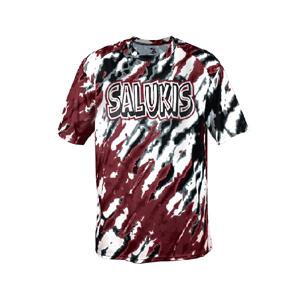 Image for the BADGER® SALUKIS YOUTH TIE-DIE T product