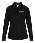 Image for the BADGER® SALUKIS DRY-FIT LADIES 1/4 ZIP product