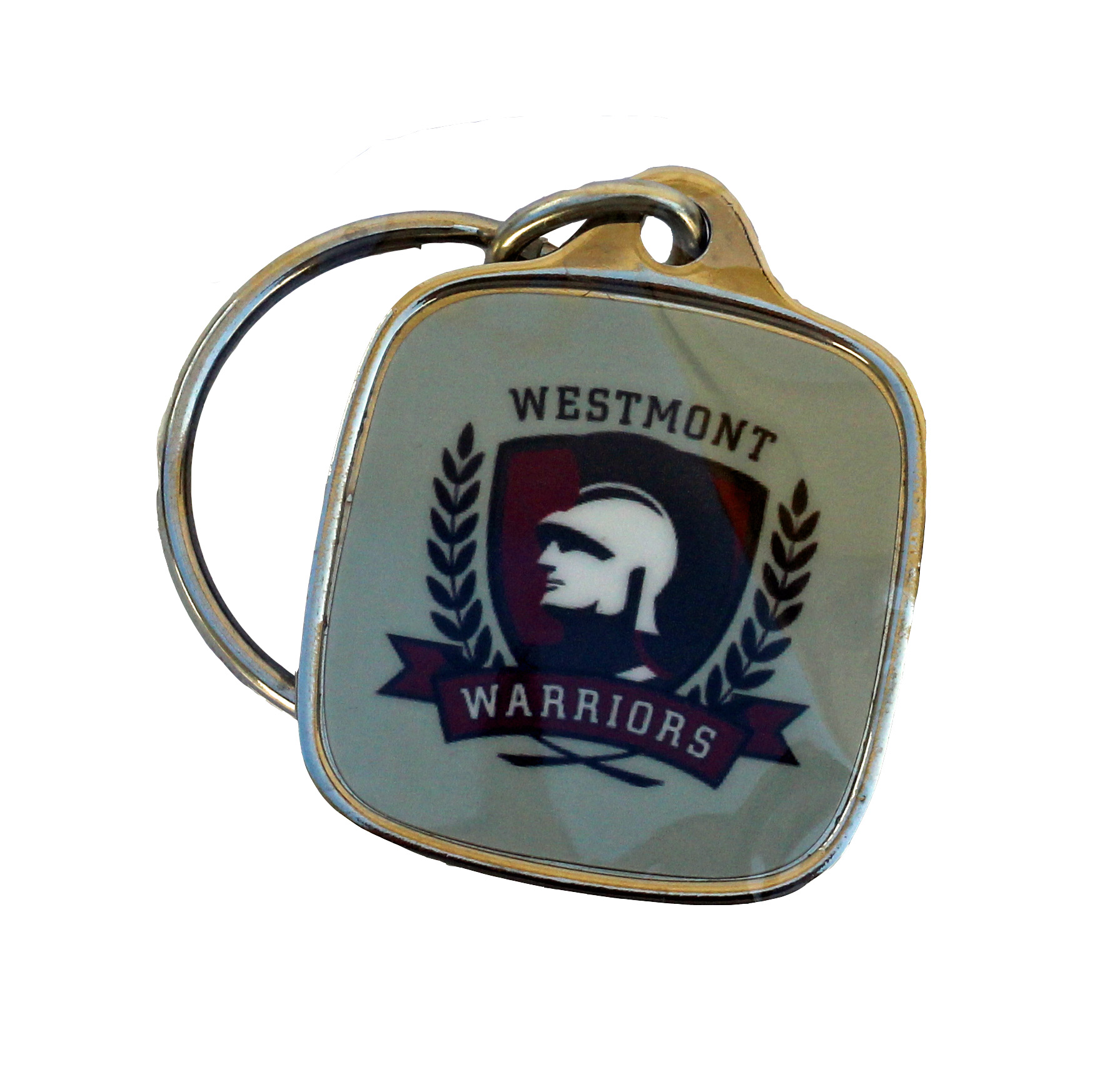 Image for the Warrior Square Key Ring  product