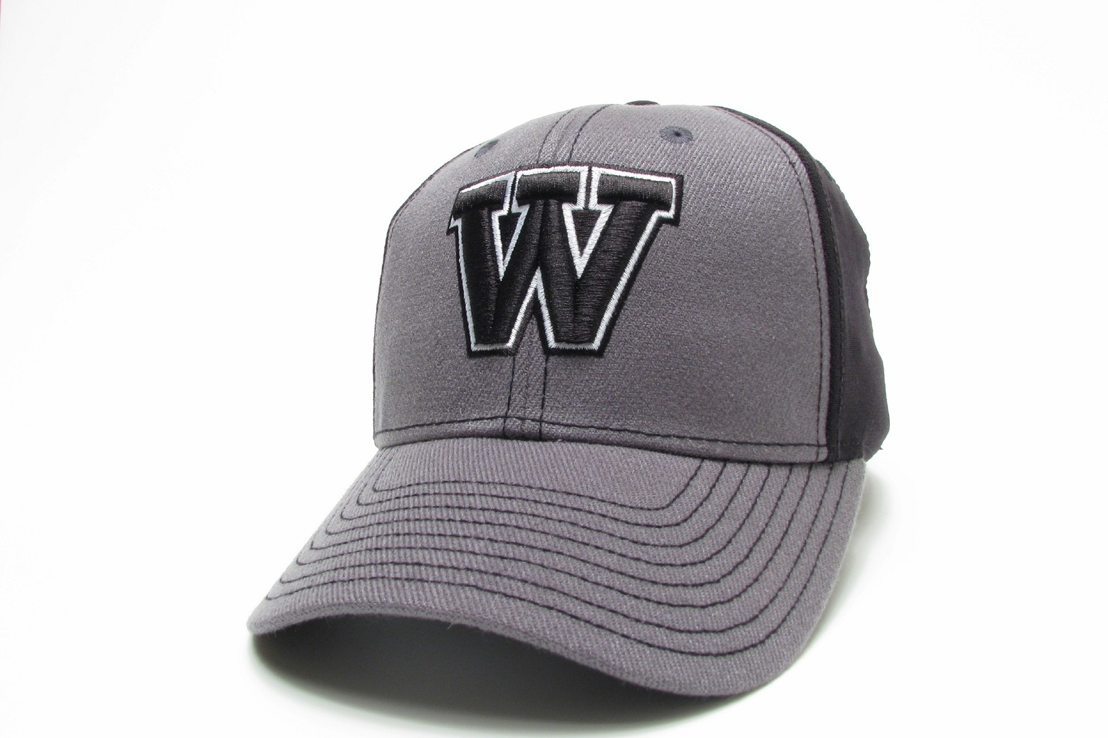 Image for the Legacy Grey and Black 'W' Hat product