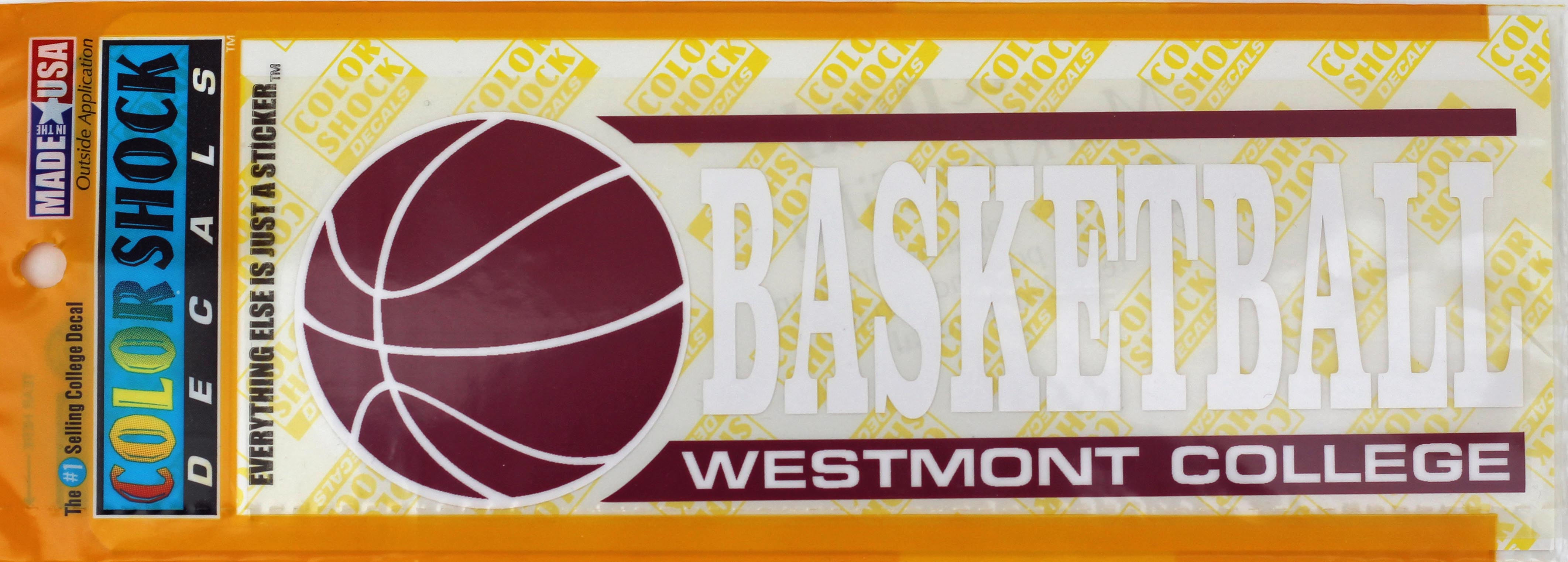 Image for the Color Shock Basketball Decal product