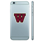 Image for the Color Shock Westmont Alumni Decal product
