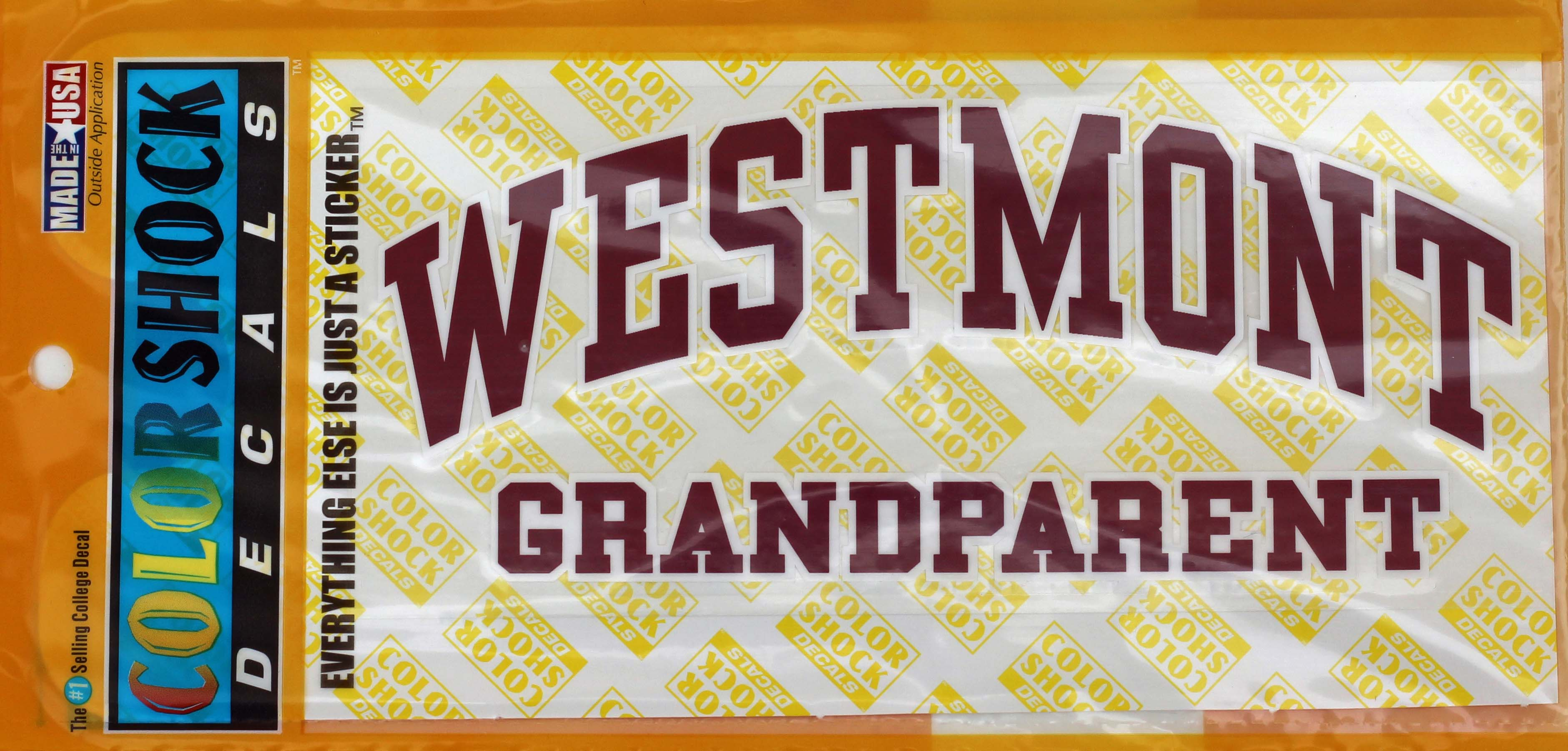 Image for the Color Shock Grandparent Decal product