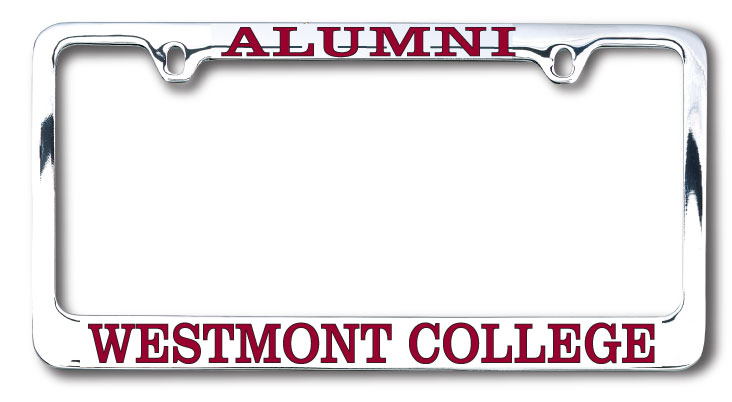 Image for the Alumni License Plate Frame product