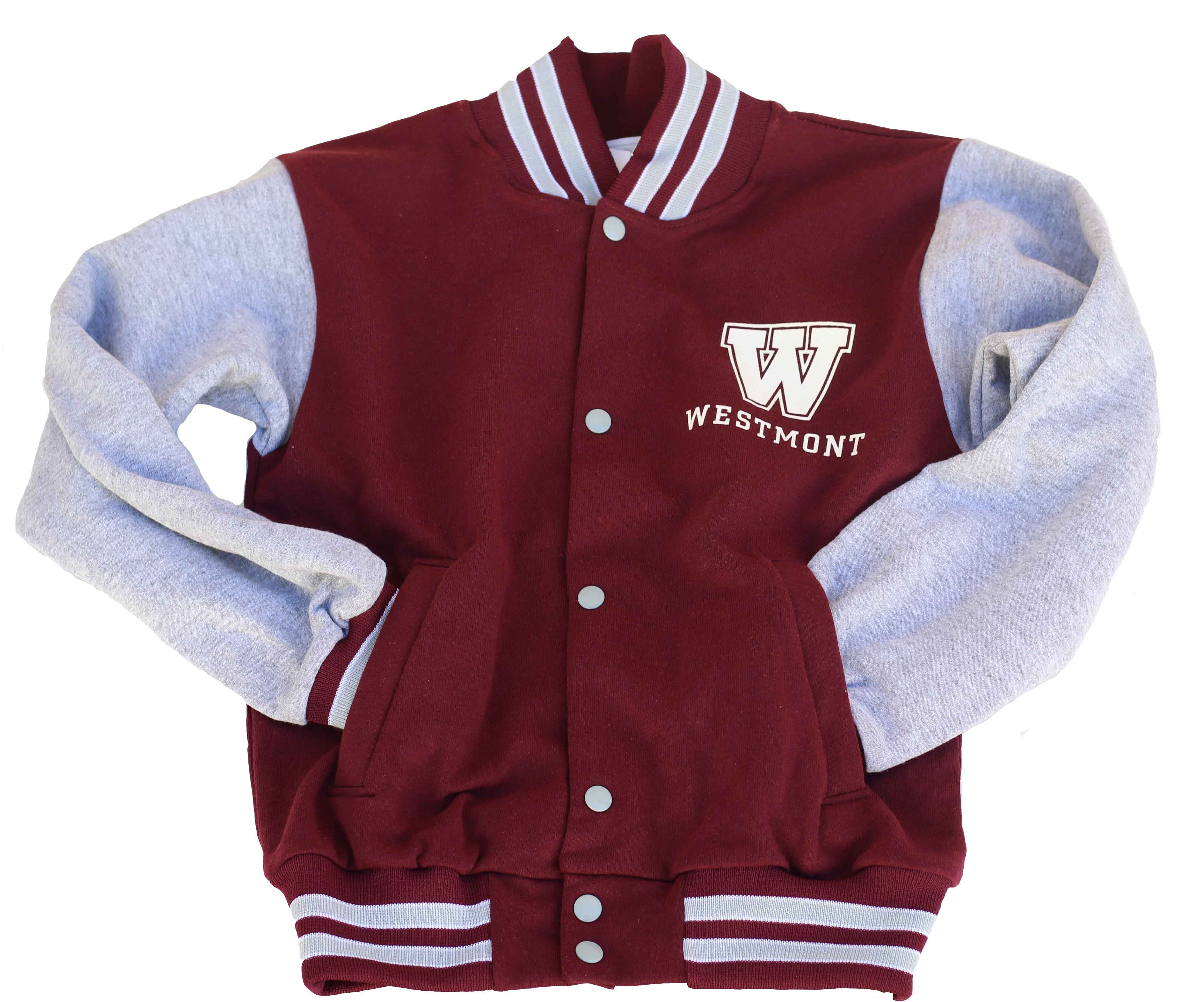 "Image for the Third Street ""W"" Westmont Button-Up Sweatshirt  Youth product"