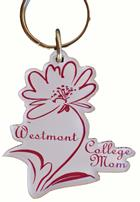 Image for the Westmont Mom Flower Keychain product