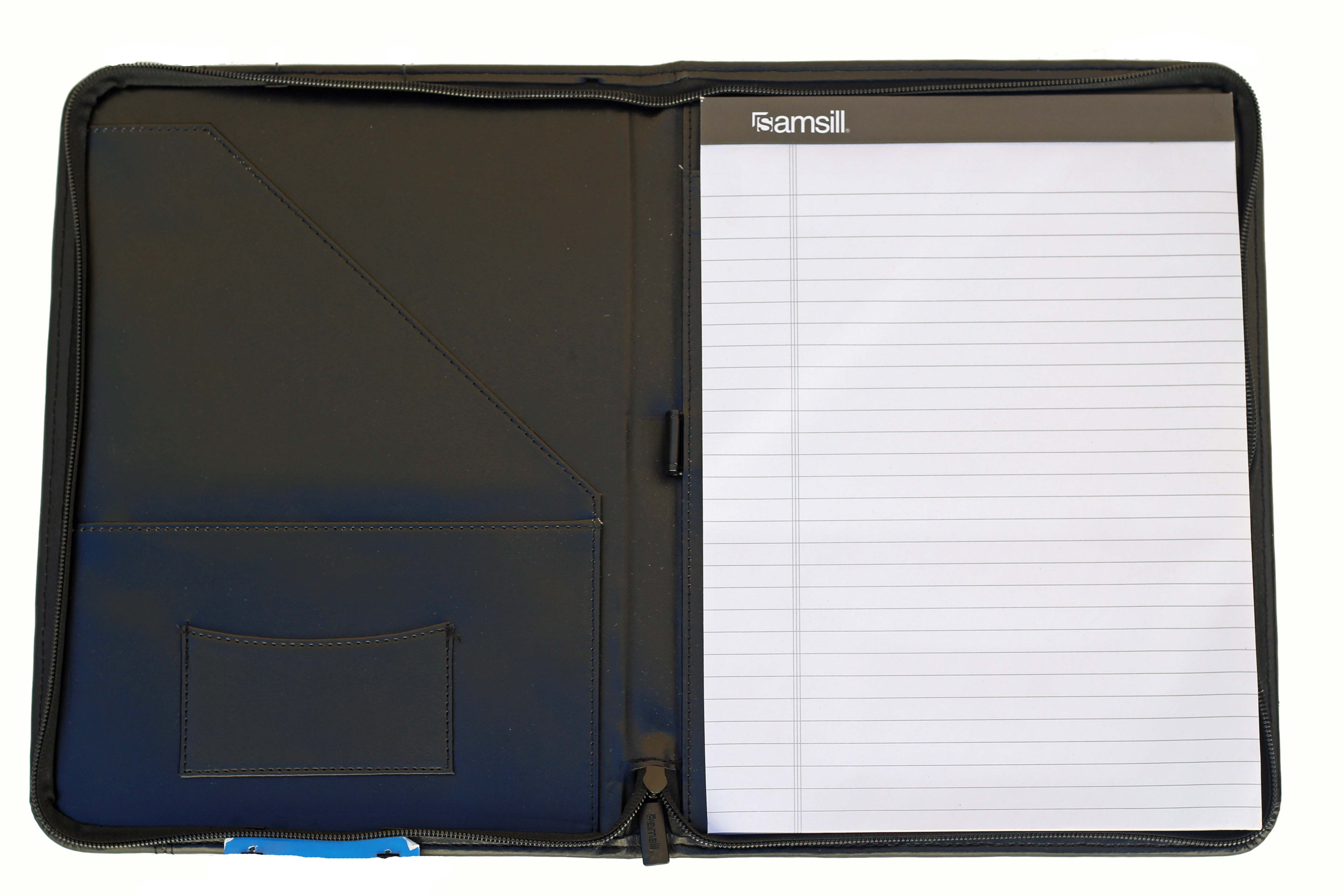 Alternative Image for the Black Leather Westmont New Seal Portfolio product