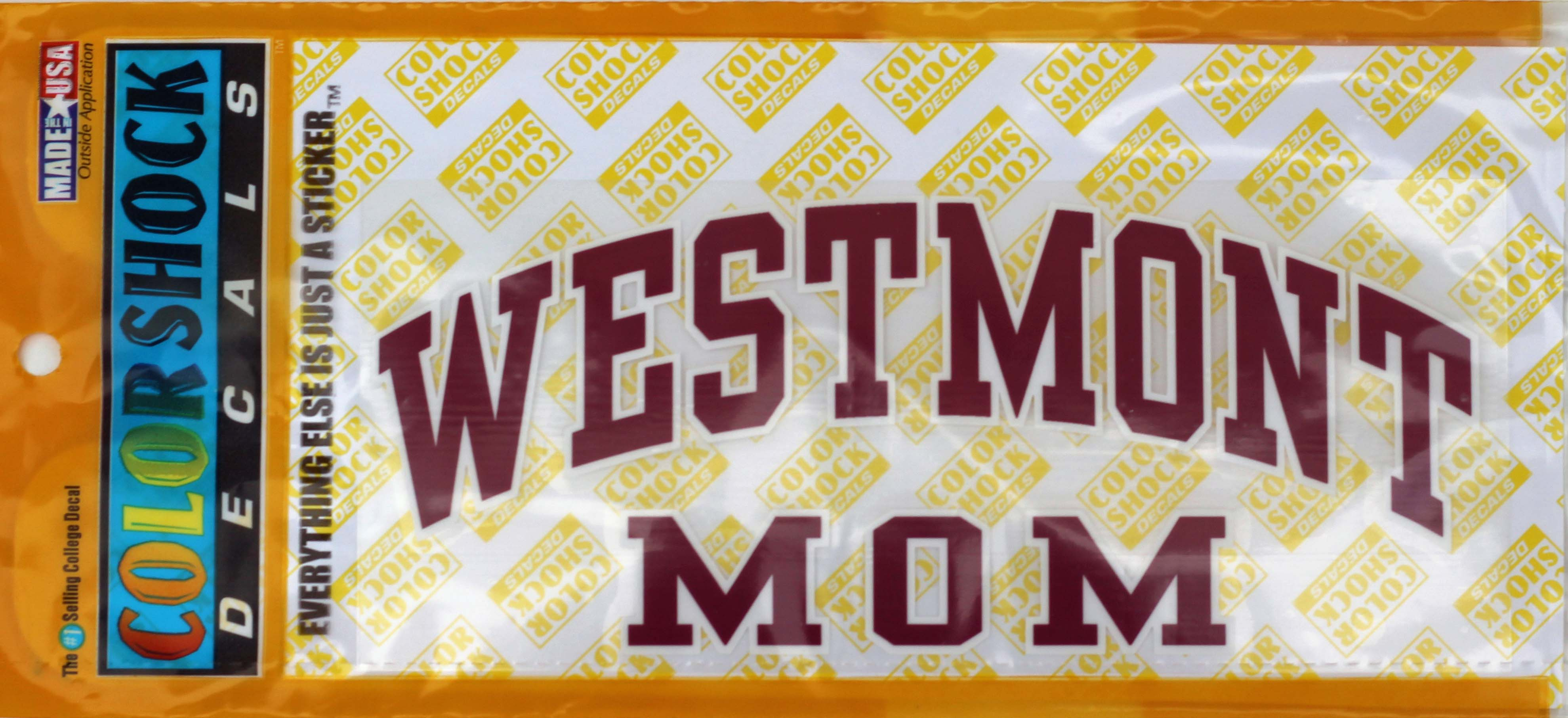 Image for the Color Shock Westmont Mom Decal product