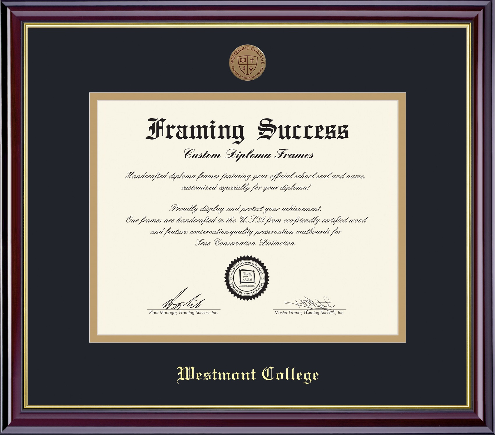 Alternative Image for the Framing Success Diploma Frames product
