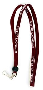 Image for the Adjustable Spirit Lanyard Maroon product