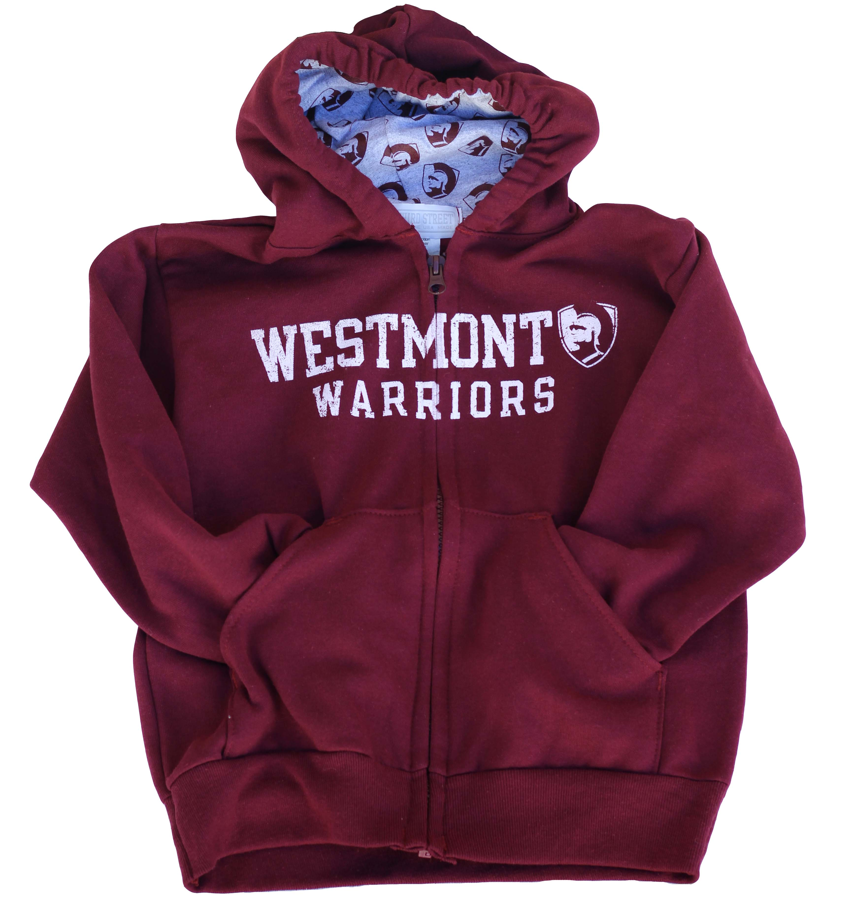 Image for the Third Street Warriors Zip Hoodie product