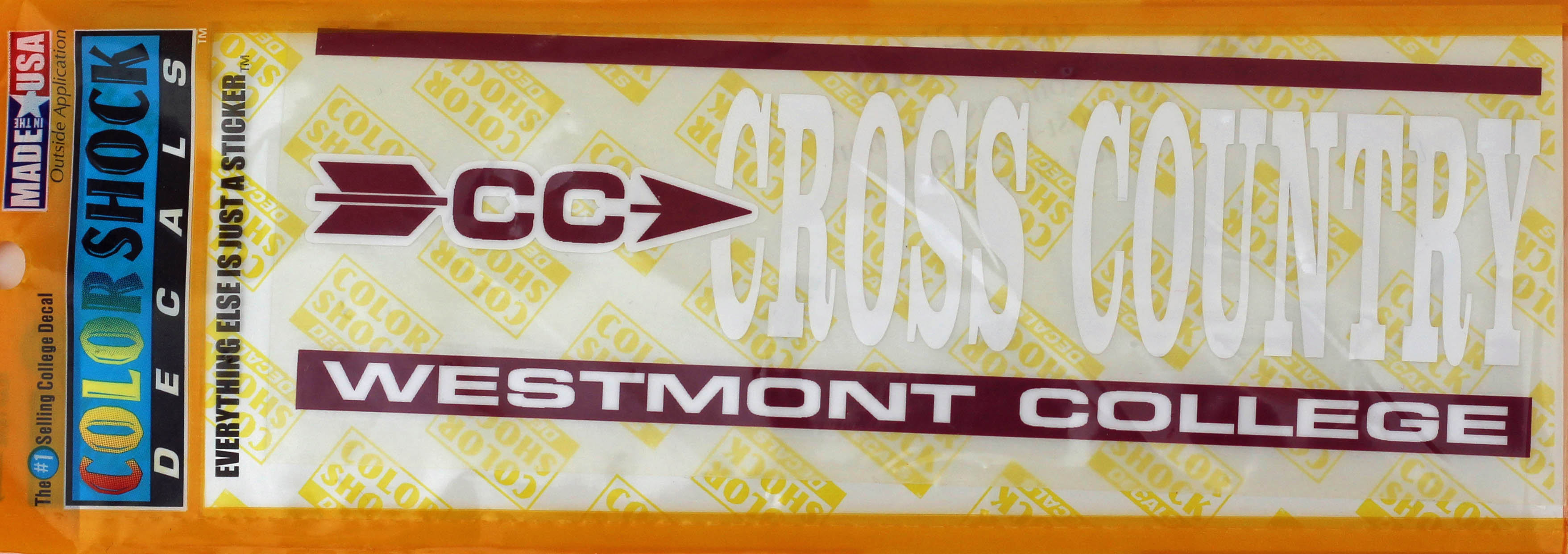 Image for the Color Shock Cross Country Decal product