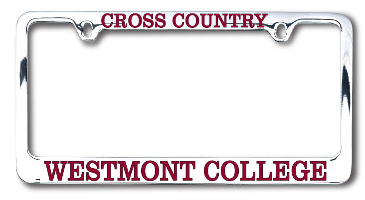 Image for the Cross Country Westmont License Plate Frame product