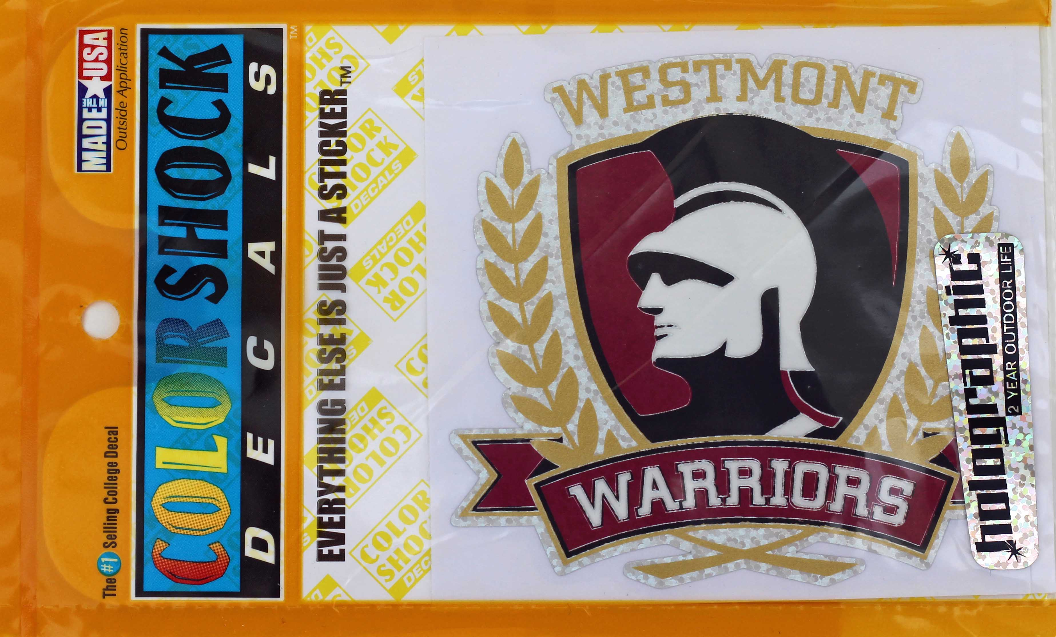 Image for the Color Shock Holographic Warrior Decal  product