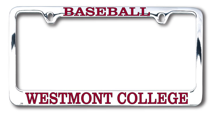 Image for the Baseball Westmont License Plate Frame product