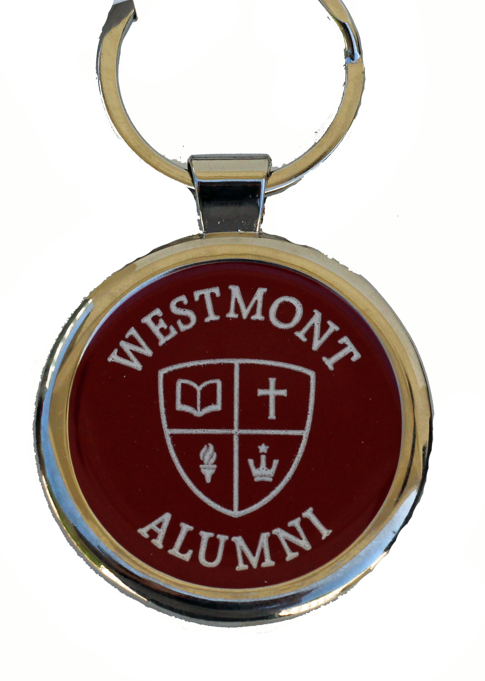 Image for the Spirit Westmont Seal Alumni Chrome Keyring product