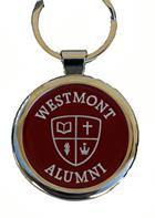 Image for the Spirit Westmont Seal Alumni Chrome Keyring product
