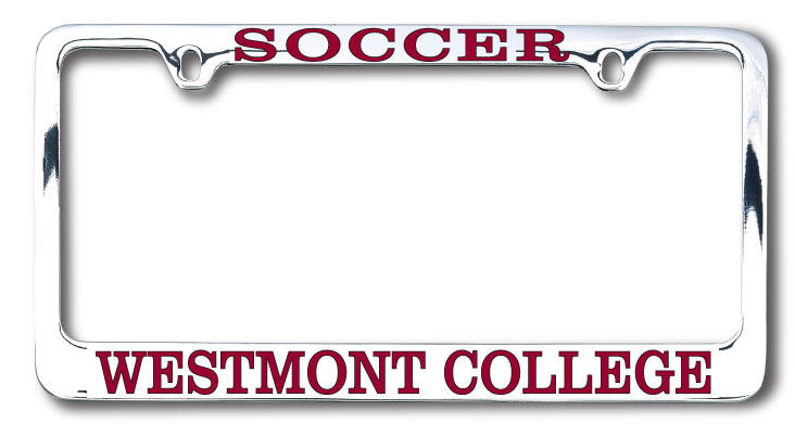 Image for the Soccer Westmont License Plate Frame product