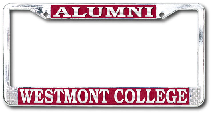 Image for the Alumni Westmont College License Plate Frame product