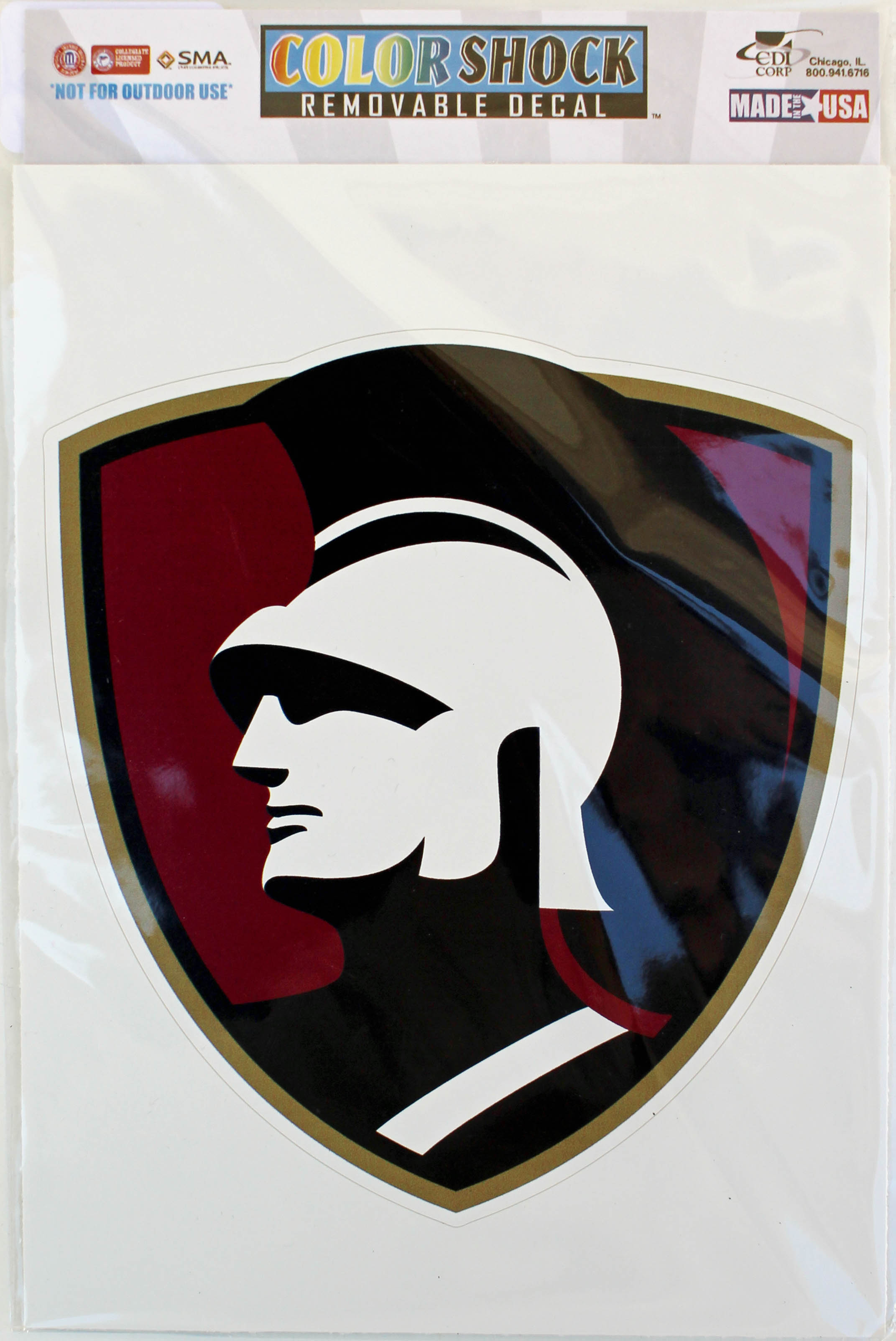 Image for the Warrior Head Removable Decal product