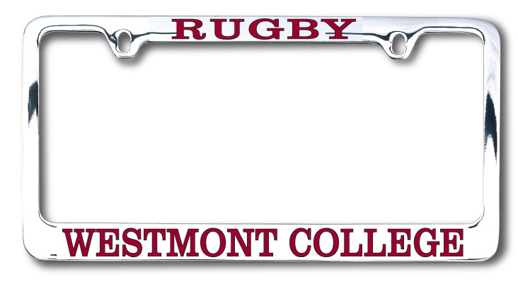 Image for the Rugby Westmont License Plate Frame product