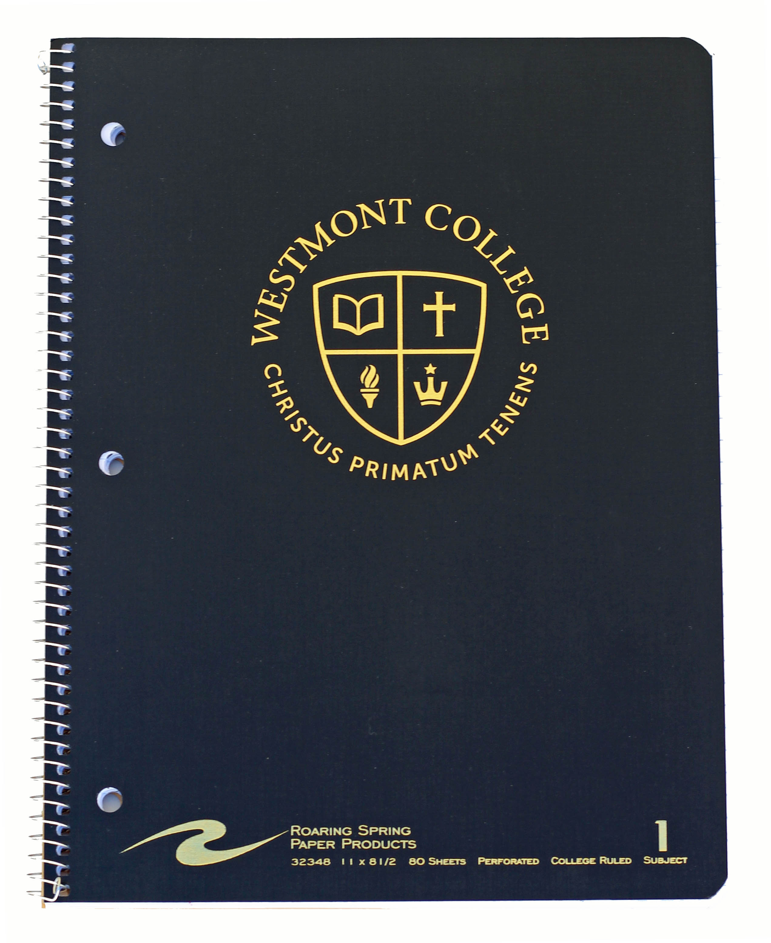 Alternative Image for the Westmont One Subject Notebook product