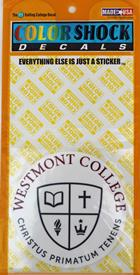 Image for the Color Shock Westmont Seal Decal product